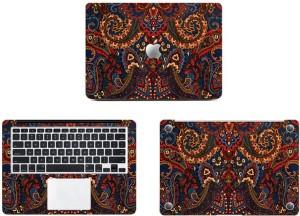 Swagsutra Multicolor texture Vinyl Laptop Decal 11