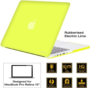 AirPlus Retina 13 inch Neon Series satin finish Hard Case Shell Cover for Apple MacBook Pro 13.3 with Retina Display Plastic Laptop Decal 13.3