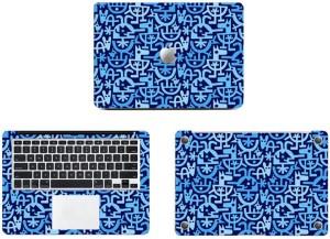 Swagsutra Blue bird cartoon design Vinyl Laptop Decal 11