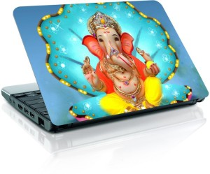 Shopmania Lord Ganpati Vinyl Laptop Decal 15.6