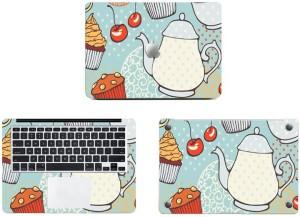 Swagsutra Cake Cupcakes teapot Vinyl Laptop Decal 11
