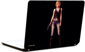 Pics And You Girl With Guns 6 3M/Avery Vinyl Laptop Decal 15.6