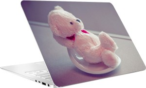 AV Styles Cute Teddy Laptop Skin Vinyl Laptop Decal 15.6