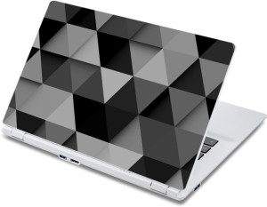 ezyPRNT 3D Triangle Pattern (13 to 13.9 inch) Vinyl Laptop Decal 13