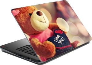 meSleep Love Luv107 Vinyl Laptop Decal 15.6