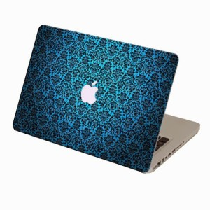 Theskinmantra Blue Whao Macbook Air 11 Inches 3m Bubble Free Vinyl Laptop Decal 11