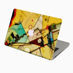Theskinmantra Anglic Abstract Macbook 3m Bubble Free Vinyl Laptop Decal 13.3