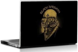 Bravado Black Sabbath Mask Vinyl Laptop Decal 15.6