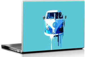 Seven Rays Vintage Wagen Vinyl Laptop Decal 15.6