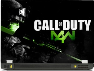 SkinShack New 3D Call Of Duty COD M4W (17 inch) Vinyl Laptop Decal 17