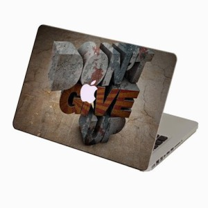 Theskinmantra Dont Give Up Macbook 3m Bubble Free Vinyl Laptop Decal 13.3