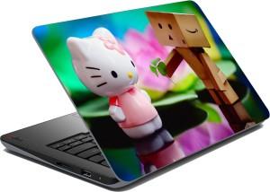 meSleep Cat Love 65 Vinyl Laptop Decal 15.6