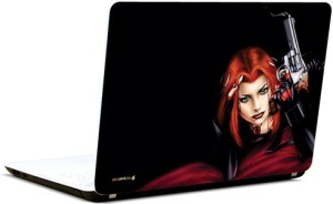 Pics And You Girl With Guns 7 3M/Avery Vinyl Laptop Decal 15.6