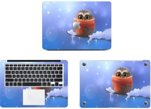 Swagsutra Little Owl Vinyl Laptop Decal 11