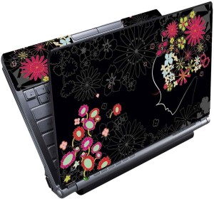c0b67be30 FineArts Floral Black Full Panel Vinyl Laptop Decal 15 6 Best Price in  India   FineArts Floral Black Full Panel Vinyl Laptop Decal 15 6 Compare  Price List ...