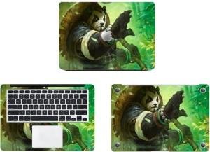 Swagsutra Forest Panda Vinyl Laptop Decal 11