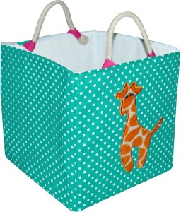 Creative Textiles 20 L Multicolor Laundry Basket, Laundry Bag