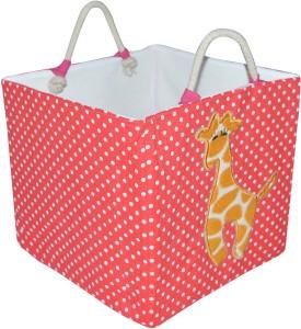 Creative Textiles 20 L Red Laundry Basket, Laundry Bag