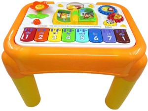 0a7df511516 GoAppuGo Multipurpose Kids Activity Table Baby Birthday Gift for 1 2 3 year  old boy girl Educational Learning Musical ToyMulticolor
