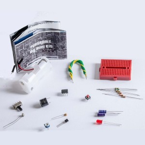 Infiction labs basic electronics diy do it yourself kit black best infiction labs basic electronics diydo it yourself kitblack solutioingenieria Gallery