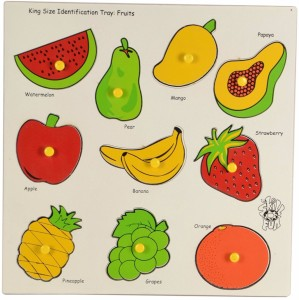 Instabuyz King Size Identification Tray Fruits For Kids Learning Toy Best Price In India Instabuyz King Size Identification Tray Fruits For Kids Learning Toy Compare Price List From Instabuyz Learning Educational