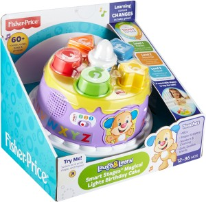 Fisher Price Laugh And Learn Smart Stages Magical Lights Birthday Cake
