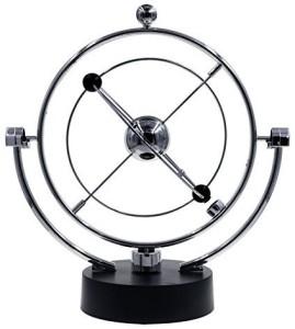 Bojin Planet Kinetic Mobile Desk Toy Electronic Perpetual Motion Helm