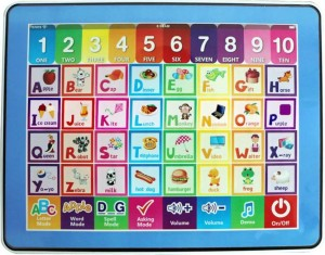 Kids Learning Tablet >> Hr English Learning Tablet For Kids Indian Voice Multicolour