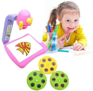 hms projector painting and drawing kit toy multicolor best price in