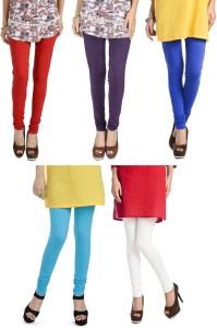 03c4b694b95468 Rupa Softline Women s Multicolor Leggings Pack of 5 Best Price in ...