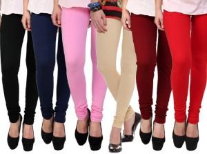 be4f98cb105dc2 Legemat Women s Multicolor Leggings Pack of 6 Best Price in India ...