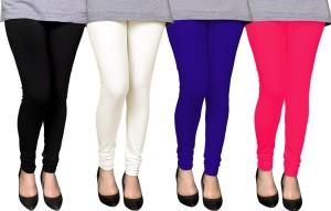 PAMO Women's Black, Multicolor Leggings