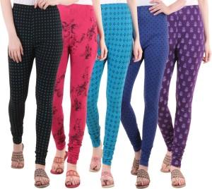 Diaz Women's Multicolor Leggings