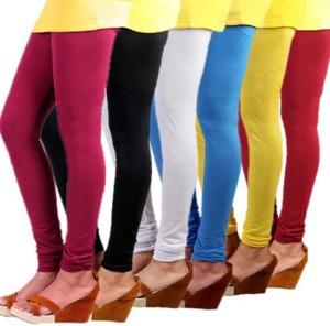 Butterfly Women's Pink, Black, White, Blue, Yellow, Red Leggings
