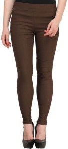 Magrace Women's Brown Jeggings