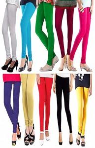 Magrace Women's Multicolor, Black, Yellow, Light Blue, Blue, Pink, Green, Purple, Beige, Purple, White Leggings