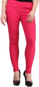 Magrace Women's Pink Jeggings