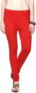 People Women's Orange Leggings