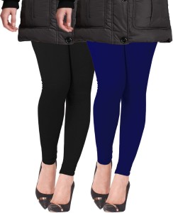 77cd323894b7f8 Lux Lyra Women s Black Dark Blue Leggings Pack of 2 Best Price in ...