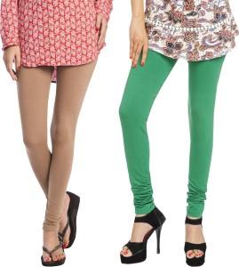 04d4f2041033f0 Rupa Women s Multicolor Leggings Pack of 2 Best Price in India ...