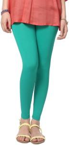 People Women's Green Leggings