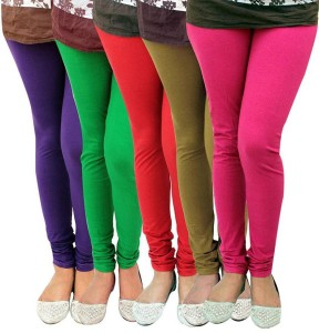 1ccbc8ff23844 Stylobby Women s Multicolor Leggings Pack of 5 Best Price in India ...