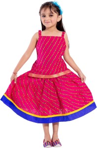 b795b1e270c4 Magnus Girls Lehenga Choli Ethnic Wear Striped Ghagra Choli Best ...