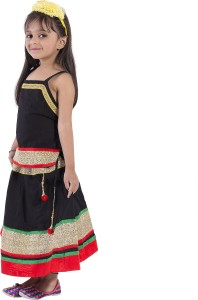 cd2d202f8e65 Magnus Girls Lehenga Choli Ethnic Wear Self Design Lehenga Choli ...