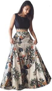 JS Pavitra Fabrics Printed Women's Lehenga Choli