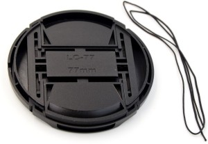 Saihan 77 mm Center Pinch Cover with String  Lens Cap