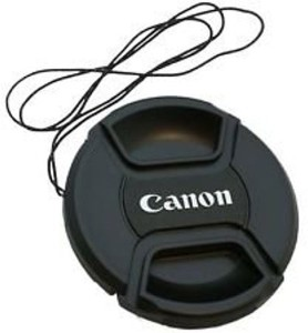 Canon LC-58mm replacement Center Pinch For 18-55mm Lens With Thread  Lens Cap