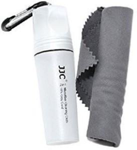 JJC JJC CL-C4 2 in1 MICROFIBER CLEANING CLOTH+18% GREY for Camera Lens Laptop Mobile Phone  Lens Cleaner