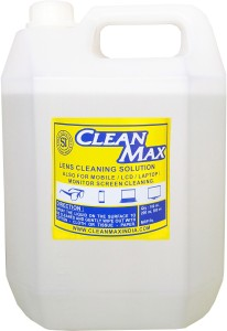 Cleanmax cleaning solution for Mobiles/Laptops/Lcd Monitors & Electronic boards.  Lens Cleaner