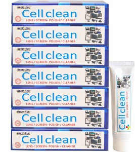 Cleanmax CELLCLEAN 50ml ( Pack of 7 ) for Mobiles, Laptops, Computers, Gaming